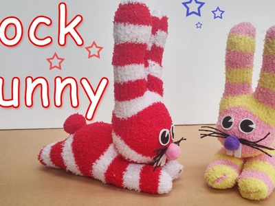 How to make a Sock Bunny - Ana | DIY Crafts