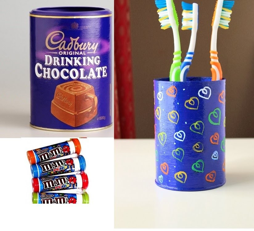 How to make a Toothbrush holder.Best out of waste DIY craft ideas