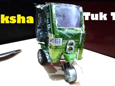 How To Make An Electric Rickshaw.TukTuk At Home DIY Easy Way