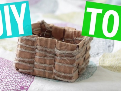 How To Make DIY Rabbit Toy -Bunny Basket-