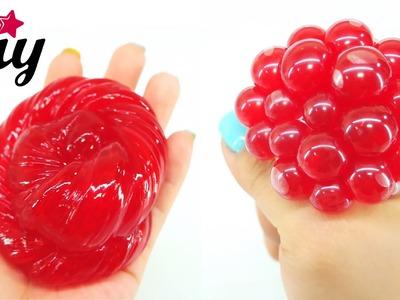 How To Make DIY Slime Stress Ball!!