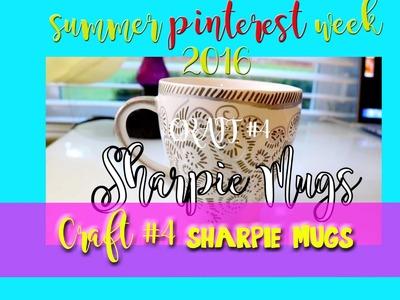 How to Make SHARPIE MUGS (a fun Pinterest Craft) - @dramaticparrot