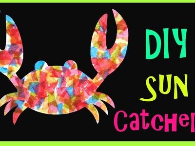 Kid's Craft. Sea Creature Sun Catchers!