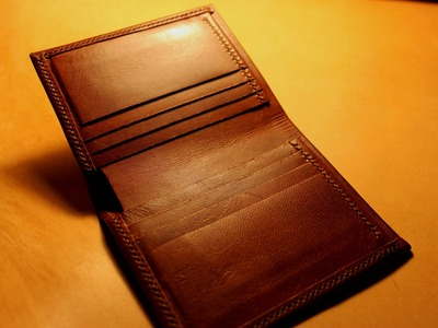 Making a Leather Bifold Wallet