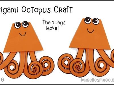 Octopus Origami Paper Craft