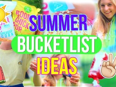 Summer Bucket List Ideas!! | Fun Things to do this Summer!