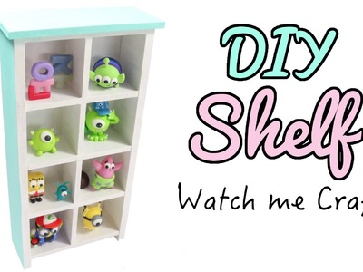 Watch Me Craft: DIY Wood Bookshelf Tutorial