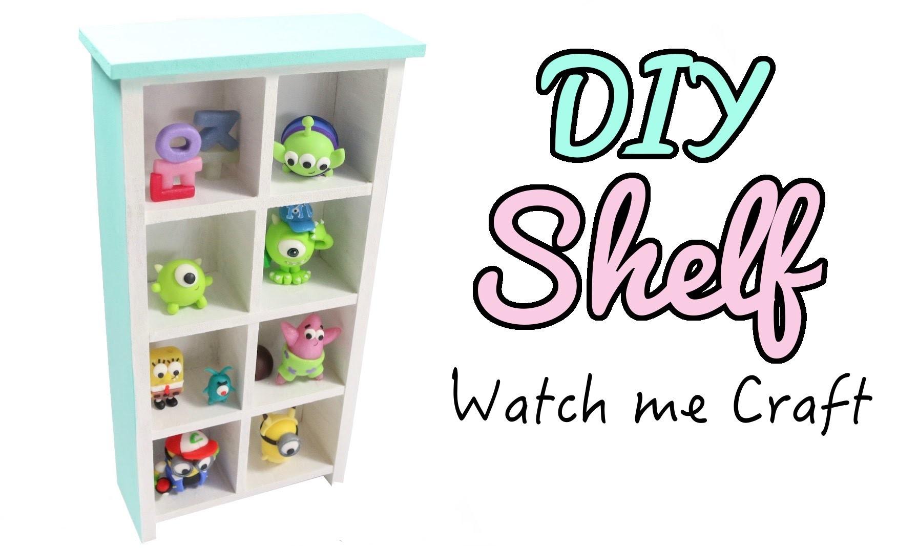 Watch Me Craft: DIY Wood Bookshelf Tutorial