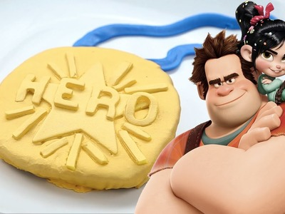 Wreck-It Ralph Medal Cookies | Dishes By Disney