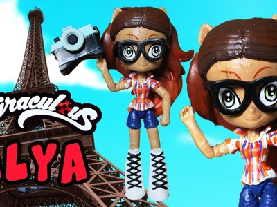 ALYA Miraculous Ladybug & Cat Noir My Little Pony Custom Doll DIY from Equestria Girls Minis