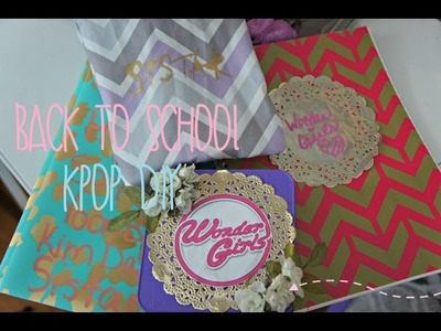 Back To School KPOP DIY