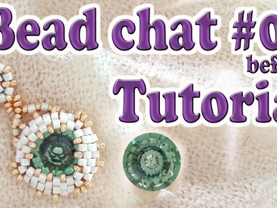 Bead Chat before Tutorial #09 - Swarovski vision crystal bezel - DIY earrings