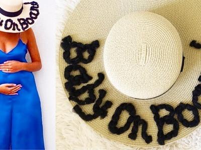 BEST PREGNANCY ANNOUNCEMENT IDEAS FOR CREATIVE.UNIQUE.FUNNY MOMS DIY