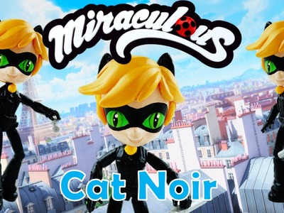 CAT NOIR - CHAT NOIR - Miraculous Ladybug My Little Pony Custom Doll DIY from Equestria Girls Mini