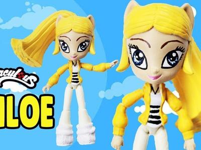 CHLOE Miraculous Ladybug and Cat Noir My Little Pony Custom Doll DIY from Equestria Girls Minis