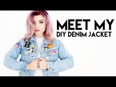 CUSTOM DENIM JACKET DIY & TOUR