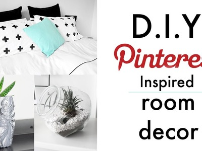D.I.Y Pinterest Inspired Room Decor ft Gallucks  ✖ James Welsh