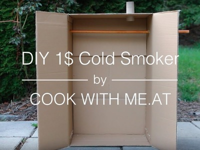 DIY 1$ Cold Smoker - Video Tutorial (Galileo Special) - COOK WITH ME.AT