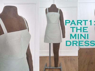 DIY 2 in 1 Convertible Dress: The Mini Dress