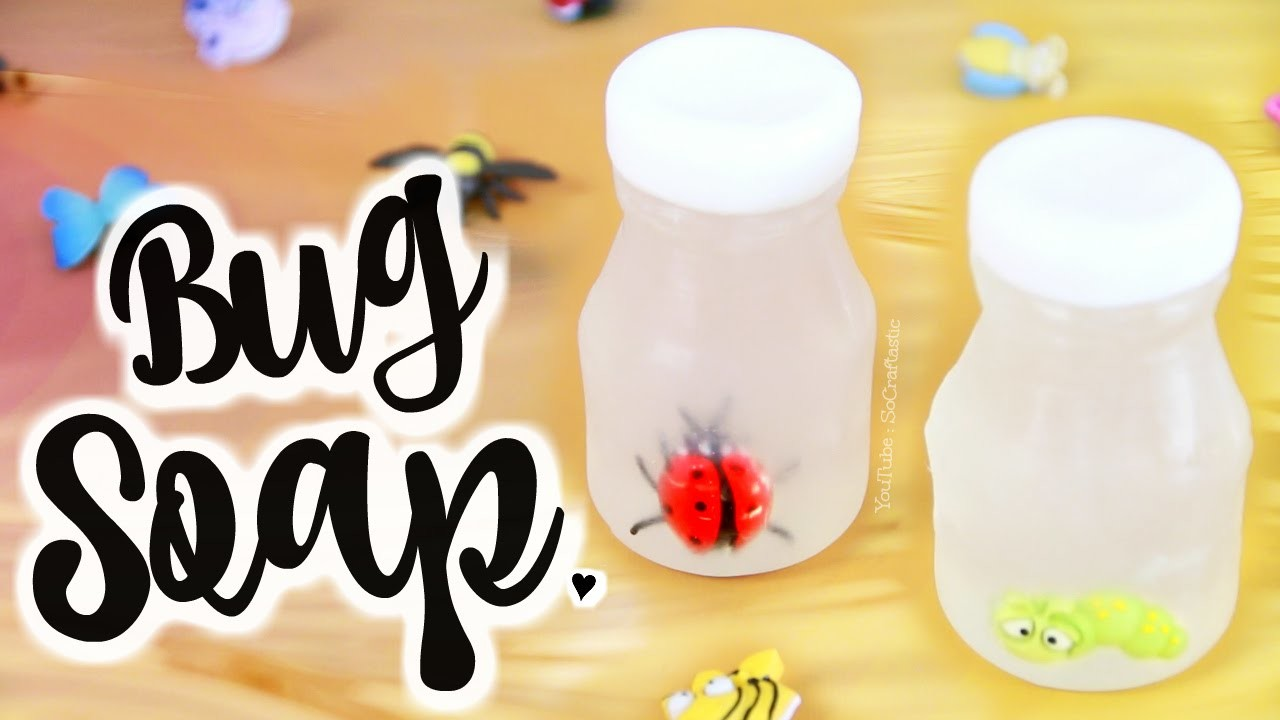 DIY Bug in a Jar Soap - Easy Soap Making How To - Melt & Pour