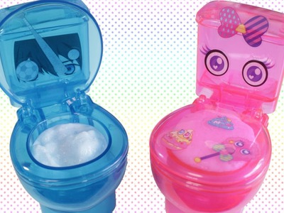 DIY CANDY! Clear Toilets!
