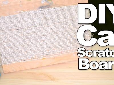 DIY Cat Scratch Board | #DIYJuly