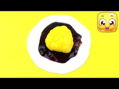 DIY Coke Slime Fried Egg without Borax or Tide | Homemade Slime