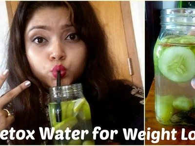 DIY: Detox Water Recipe for Weight Lose | Removing Acne | Flat Stomach | Clear Skin