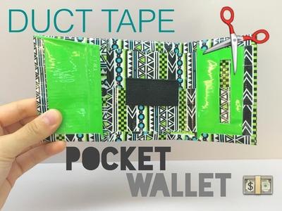 DIY Duct Tape Pocket Wallet Tutorial (ADVANCED)
