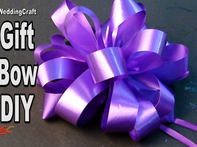 DIY Easy Bow for a gift hamper and Trousseau   How to make   JK Wedding Craft  106