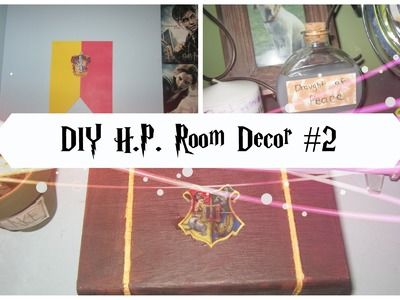 DIY Easy Harry Potter Room Decor #2