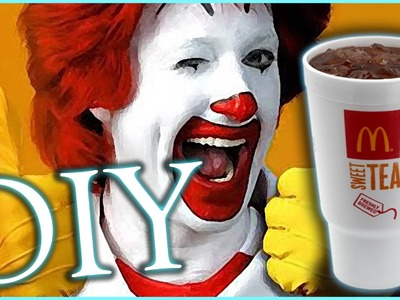 DIY EASY MCDONALD'S SWEET TEA!!! BEST RECIPE GUARANTEED!!!