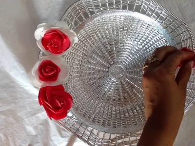DIY Easy Puja Thali Making Idea | Raksha Bandhan Plates | Diwali Puja Thali | Craftlas