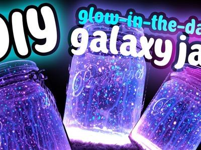 DIY Fairy Galaxy Glow Jar!!! Easy DIY! Glow In The Dark