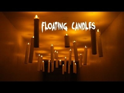 DIY Floating Candles - Inspired By Hogwarts Great Hall