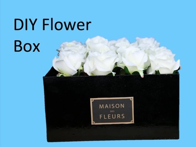 DIY Flower Box - Make your own Maison Des Fleurs box!