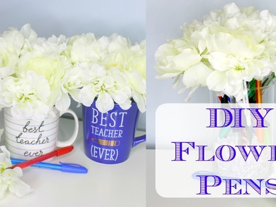 DIY Flower Pens - Make It Monday