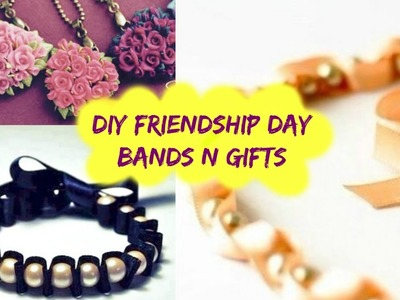 DIY Friendship Day Bands + Gifts
