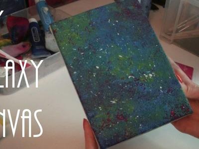 DIY Galaxy Canvas (ASMR)