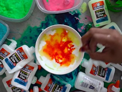 DIY Gatorade Slime!   Super Fun & Easy!    #Guava Juice