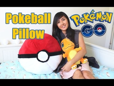 DIY Giant Pokemon GO Pokeball Pillow | Room Decor