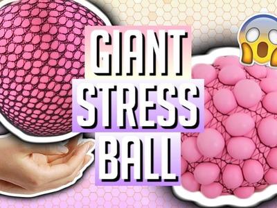 DIY GIANT SQUISHY STRESS BALL