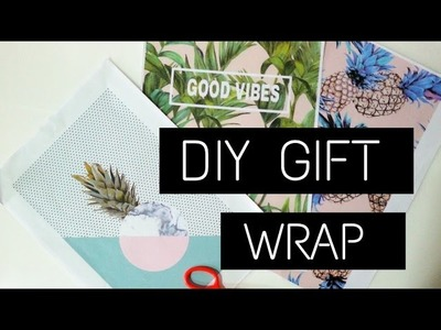 DIY Gift Wrap Ideas||MANSI UGALE.