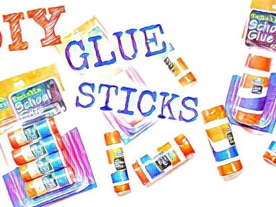 DIY Glue Sticks | American Girl Doll Crafts
