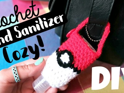 DIY Hand Sanitizer Cozy! Back To School. Crochet. ¦ The Corner of Craft