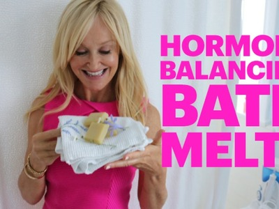 DIY Hormone Balancing Bath Melts | Using Essential Oils For PMS and Menopause