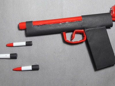 | DIY | How to make a paper TIGER GUN that shoots paper bullets-model-1' TOY WEAPONS' By Dr. Origami