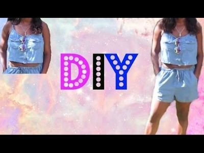 DIY HOW TO TURN YOUR ROMPER INTO A COOLER OUTFIT