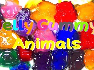 DIY Jelly Gummy Bear, Owl, Cow, Panda, Ball Molds - Kids' Toys