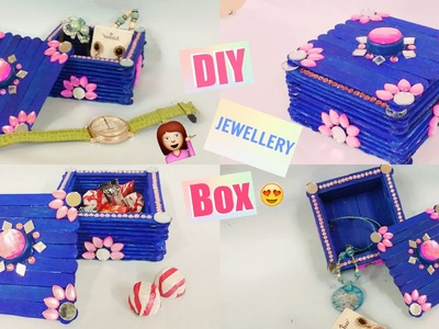 DIY JEWELLERY BOX | MULTIPURPOSE STORAGE BOX | BEST OUT OF WASTE |